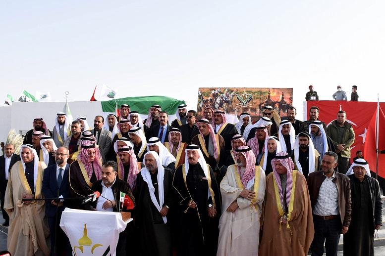 """Suriyeli aşiretler, terör örgütü YPG/PKK'ya ve Esed rejimine karşı """"tek vücut olma"""" mesajı verdi"""