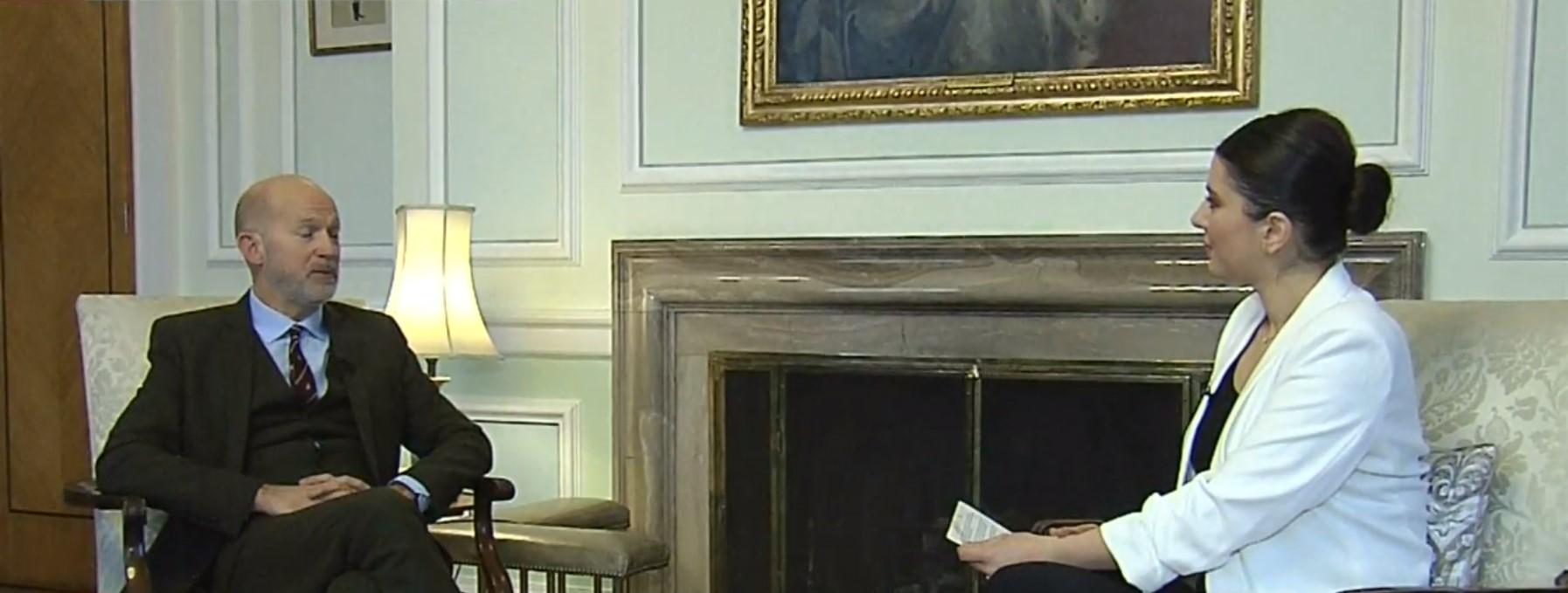 Birleşik Krallık Büyükelçisi Chilcott gündeme dair soruları cevapladı