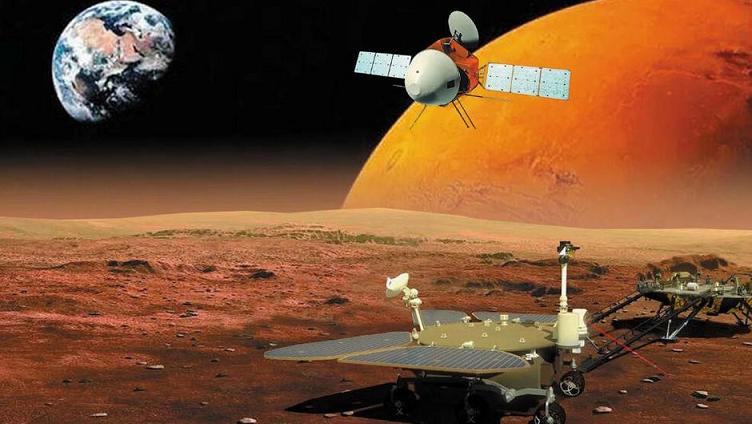 Çin, yarın Mars'a uzay aracı indirecek