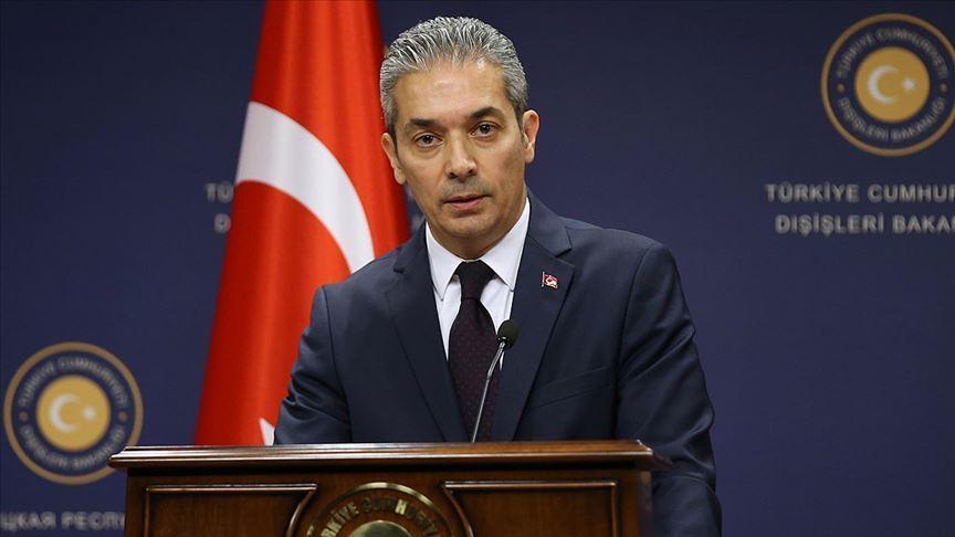 AB'den Türkiye'yi tehdit etmek yerine çözüm odaklı öneriler sunmasını bekliyoruz