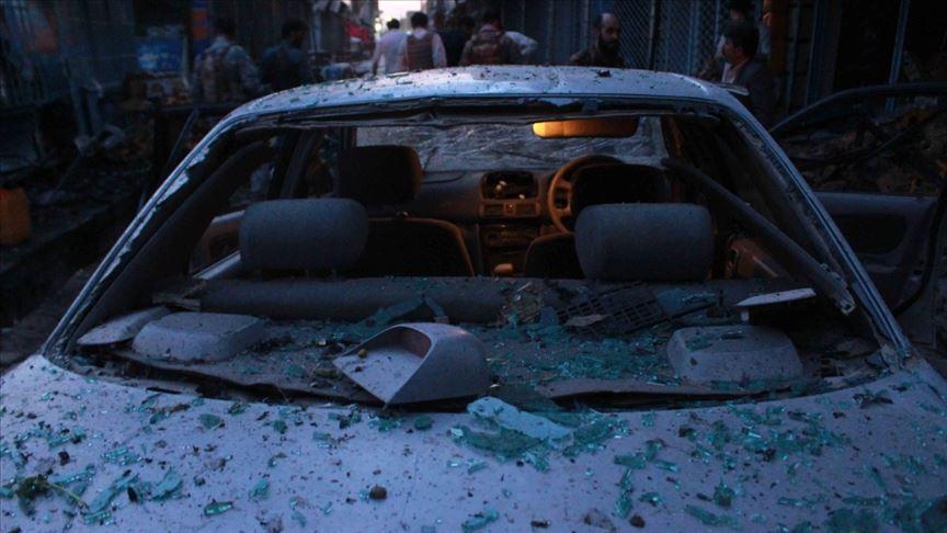 Afganistan'da bomba yüklü araçla saldırı: 12 ölü