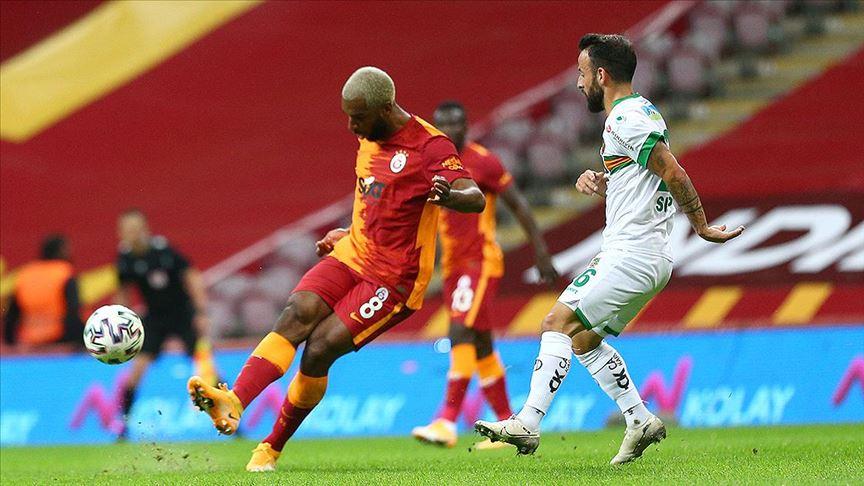 Alanyaspor Galatasaray'dan 3 puanı uzatmada aldı