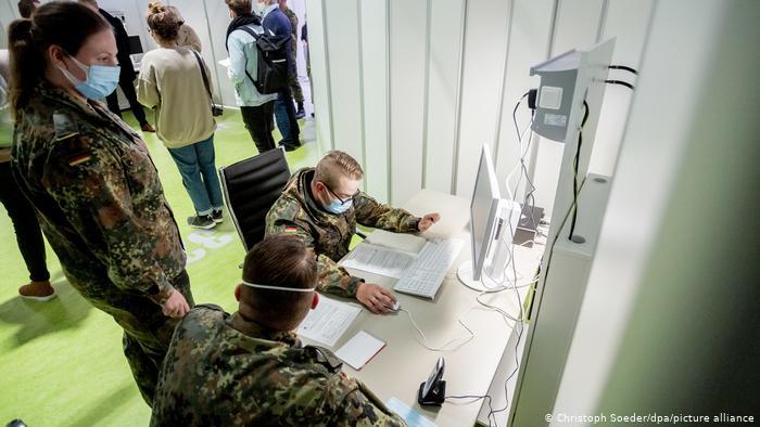 Almanya'da filyasyon çalışmalarına ordu desteği
