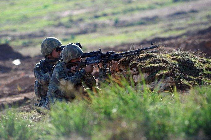Fırat Kalkanı bölgesinde PKK/YPG'li 3 terörist etkisiz hale getirildi