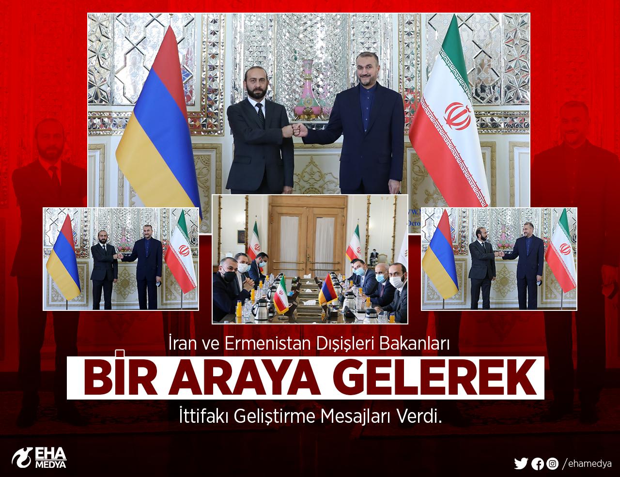 Azerbaycan'a Düşmanca Tutumunu Artıran İran, Ermenistan İle Yakınlaşıyor