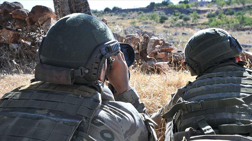 Barış Pınarı bölgesine saldırı hazırlığındaki 3 terörist etkisiz hale getirildi