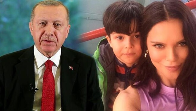 Cumhurbaşkanı Erdoğan'dan oğlunu kaybeden Ebru Şallı'ya manevi destek