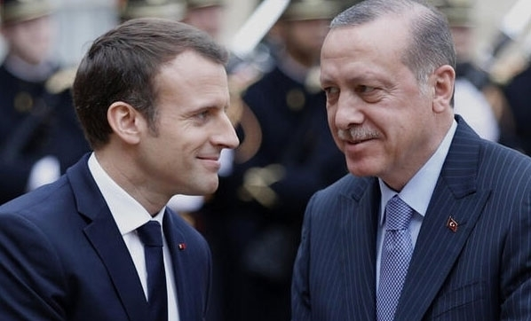 """Macron: """"(Erdoğan ile) Fikir ayrılıkları olsa da birbirimizle konuşmalıyız ve konuşmaya devam etmeliyiz"""""""