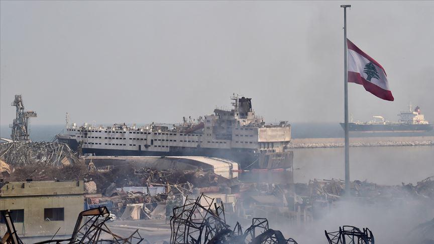 Beyrut Limanı'ndaki tehlikeli maddelerin imhası için Alman firmayla anlaşıldı