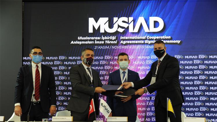 Libya İşadamları Kurulu, MÜSİAD ile mutabakat zaptı imzaladı.