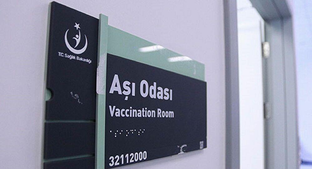 Ankara Şehir Hastanesi'nde 25 aşı uygulama odası oluşturuldu