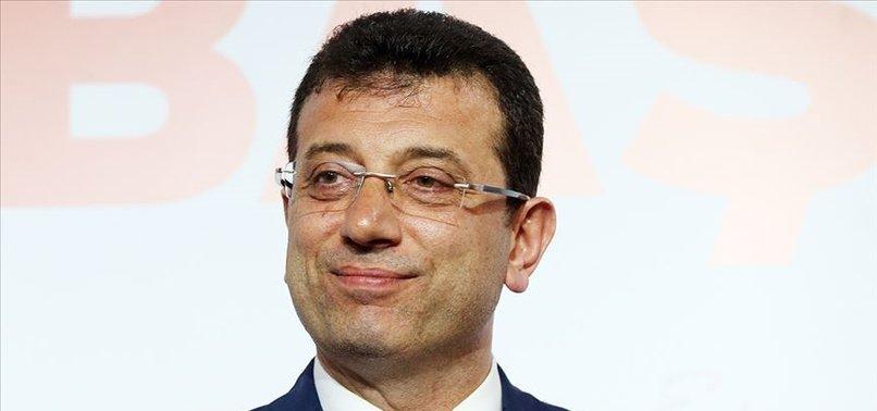 CHP'li İBB Başkanı Ekrem İmamoğlu, Türkiye'yi Fransız basınına şikayet etti .