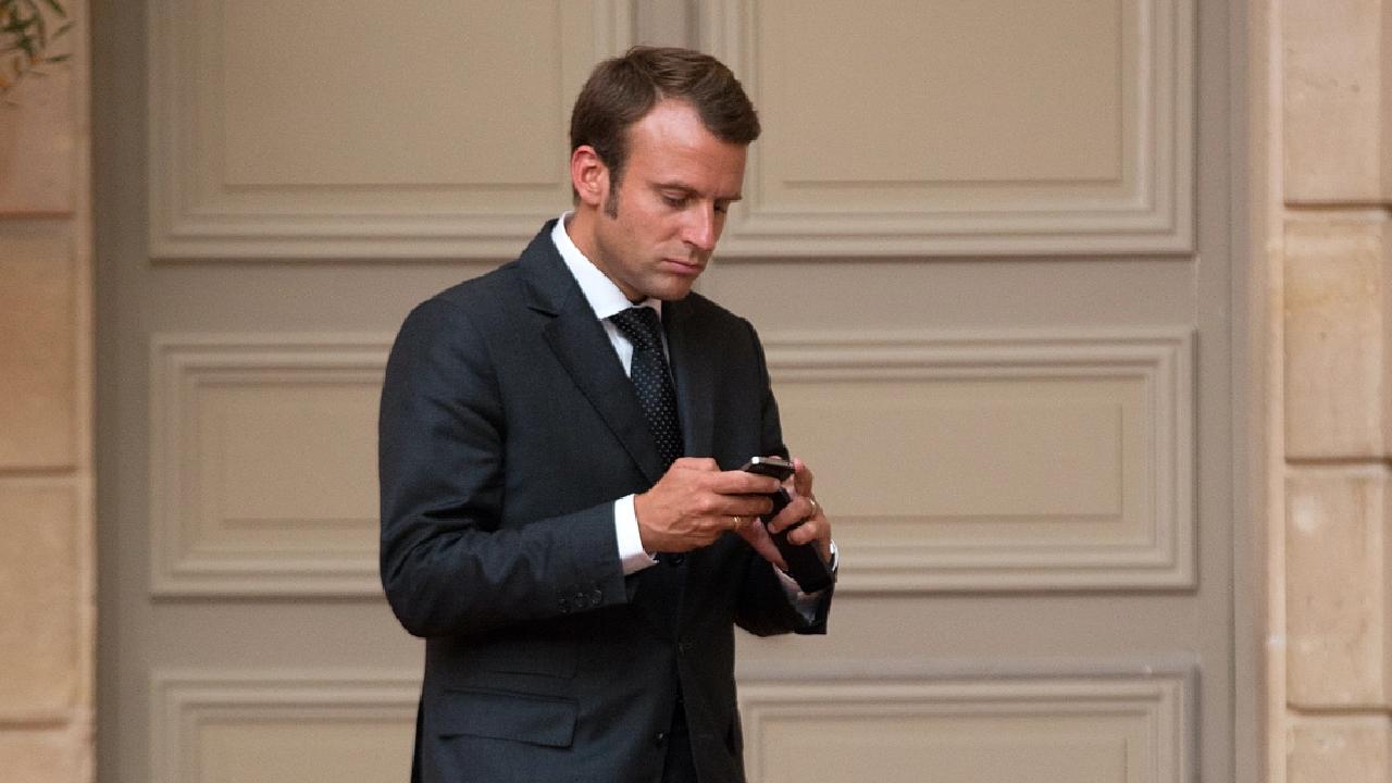 Macron'dan Pegasus casus yazılımı önlemi