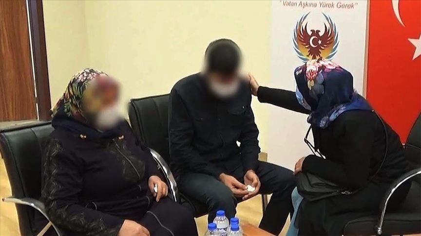 Terör örgütü PKK'dan kaçan teröristler örgütün iç yüzünü anlattı