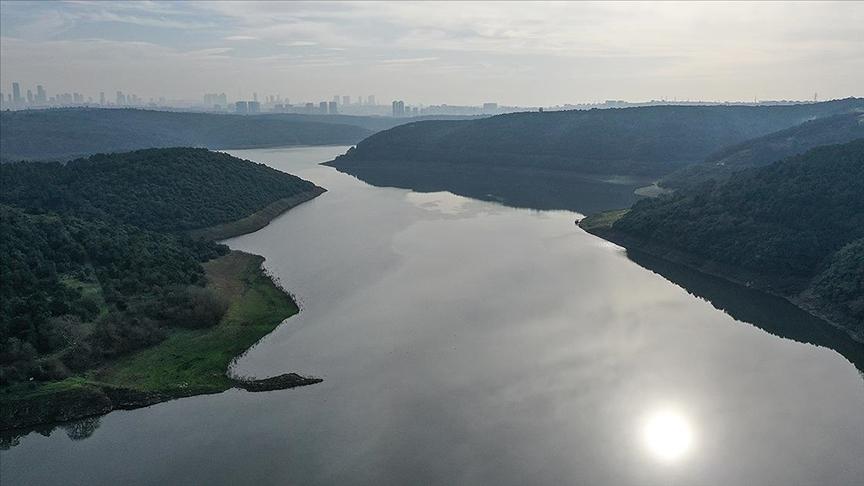 Yağışlarla İstanbul'un barajlarındaki doluluk oranı yüzde 5,5 arttı