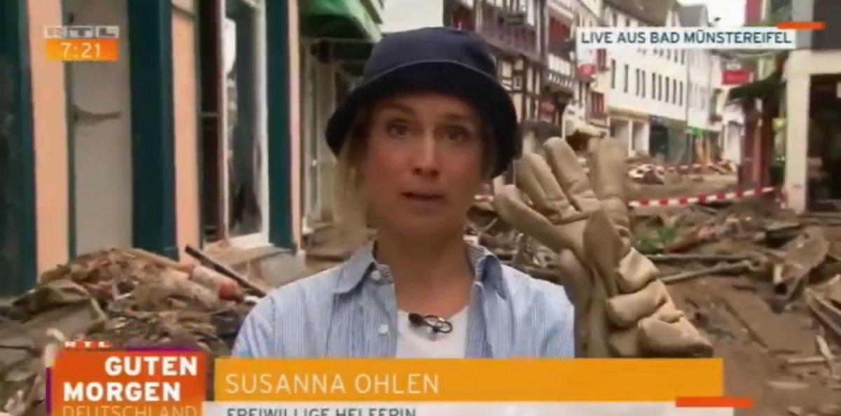 Yalancı muhabir kameralara yakalandı