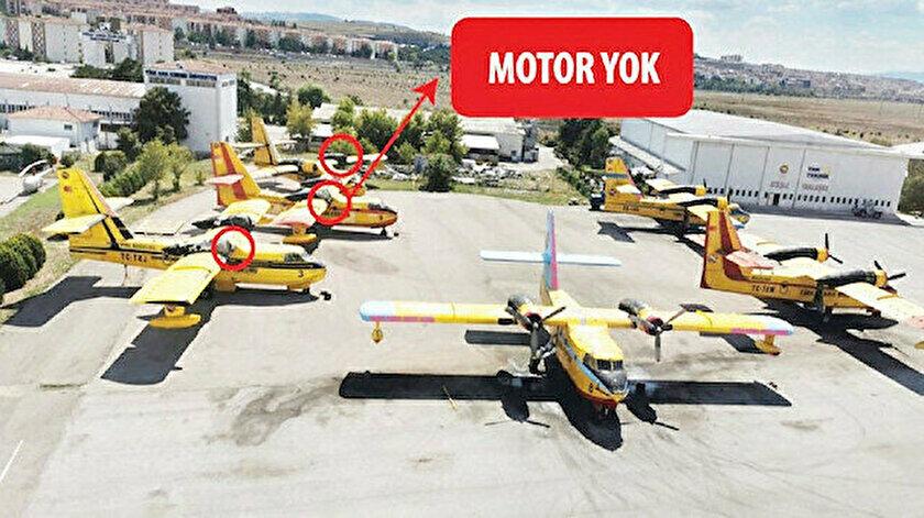 Devlet Denetleme Kurulu'ndan Türk Hava Kurumu raporu: 21 uçaktan 15'i faal değil