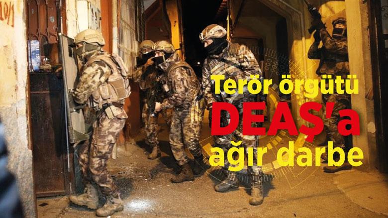 Terör örgütü DEAŞ'a ağır darbe