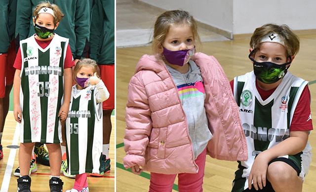 Bornova Belediyespor Basketbol Takımı Mucize bebek Ayda ve ailesini misafir etti