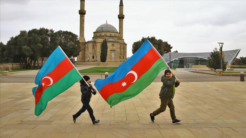 Azerbaycanlılar, Ağdam'ın işgalden kurtuluşunu kutluyor