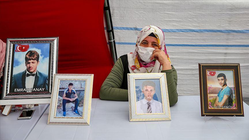 Diyarbakır annelerinden PKK ve HDP'ye tepki