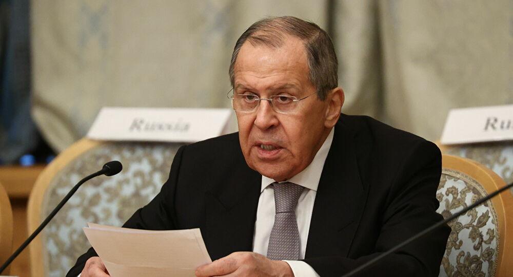 Lavrov: Batı'nın, Ukrayna'nın Donbass'taki eylemlerine yönelik tepkisi hayal kırıklığı yaratıyor
