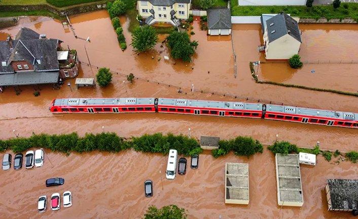 Almanya'daki sel ve su baskınlarında bilanço ağırlaşıyor!