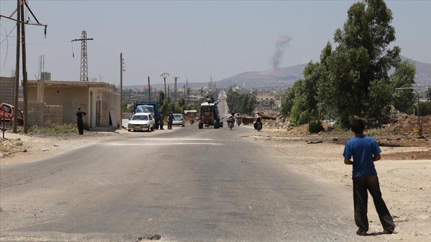 Suriye'nin güneyindeki Dera'da 21 rejim askeri eski muhaliflerin kurduğu pusuda öldürüldü