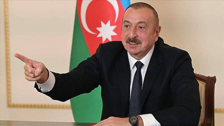 Azerbaycan Cumhurbaşkanı İlham Aliyev, Ermenistan'ı uyardı