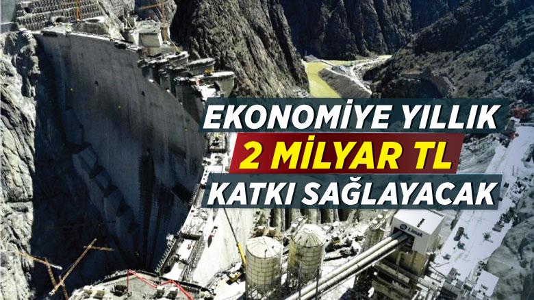 Ekonomiye yıllık 2 milyar TL katkı sağlayacak