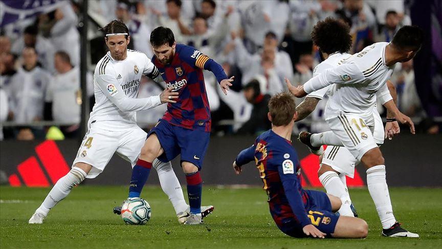 Seyircisiz El Clasico'nun galibi Real Madrid