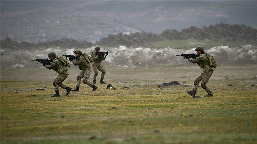 Suriye'nin kuzeyinde PKK/YPG'li 11 terörist etkisiz hale getirildi
