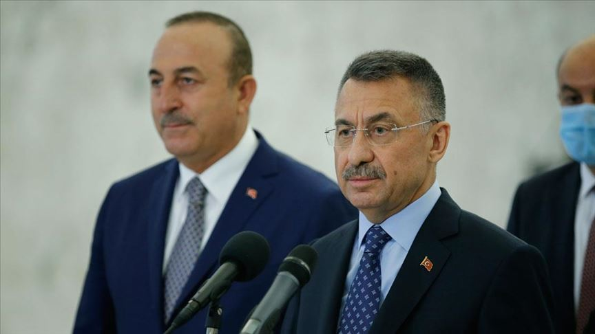 """Oktay: """"Mersin Limanı'mızın Lübnan'ın hizmetinde olacağını ifade ettik"""""""
