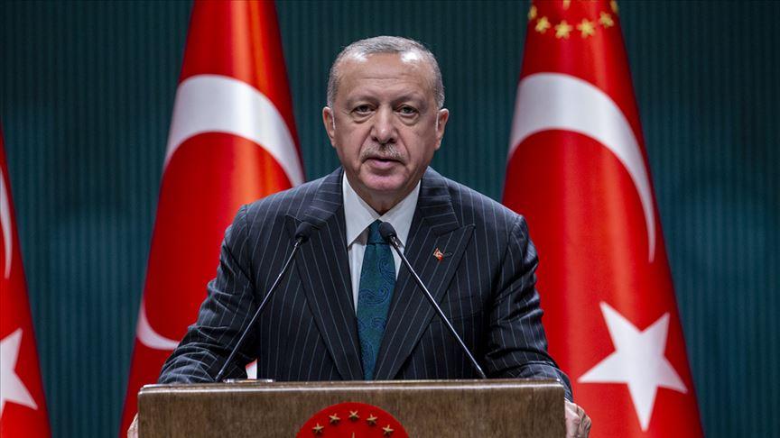 Cumhurbaşkanı Erdoğan: 2023 hedeflerimize ulaşma kararlılığı içinde yolumuza devam ediyoruz