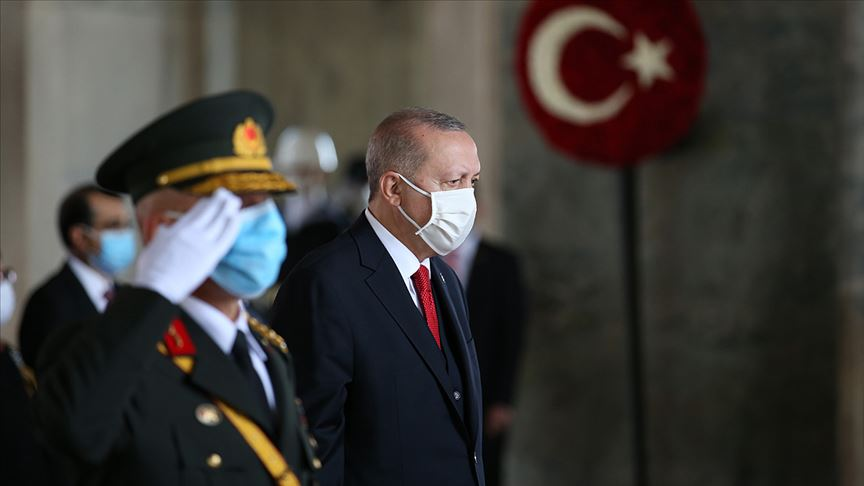 Cumhurbaşkanı Erdoğan'dan 29 Ekim birlik mesajı